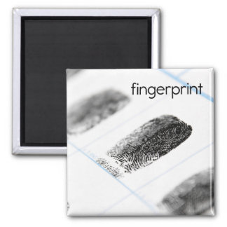 Fingerprint Refrigerator Magnet