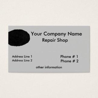 Fingerprint Repair Shop Business Card