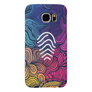 Fingerprint Results Pictograph Samsung Galaxy S6 Cases