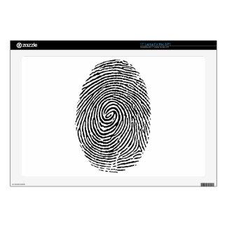 Fingerprint Laptop Skins