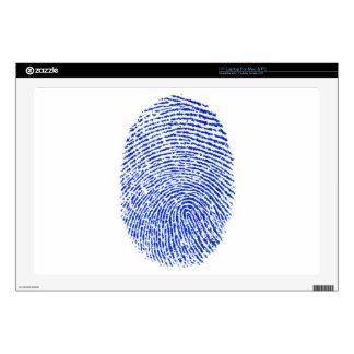 "Fingerprint 17"" Laptop Decal"