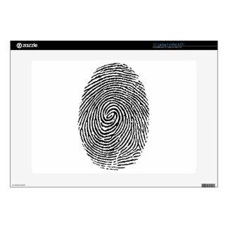 "Fingerprint 15"" Laptop Decal"