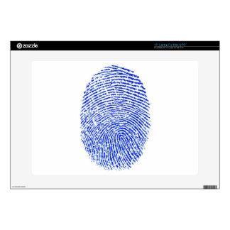 "Fingerprint Decals For 15"" Laptops"
