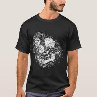 Fingerprint skull T-Shirt