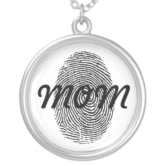 Fingerprint Square Keepsake Pendant
