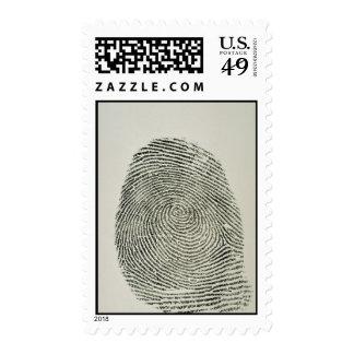 Fingerprint Stamp
