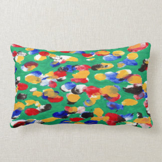 FINGERPRINT Throw Pillow Lumbar 13 x21