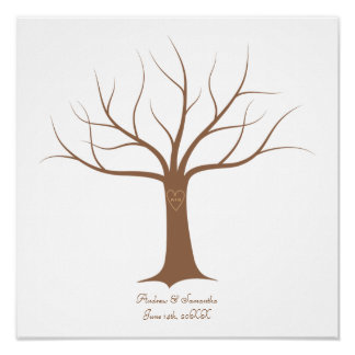 fingerprint tree posters fingerprint tree prints art prints poster designs zazzle