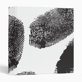Fingerprints 3 Ring Binder
