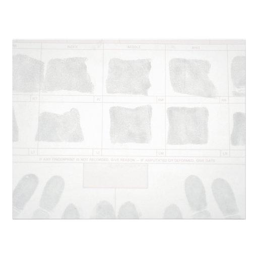 Fingerprints Letterhead