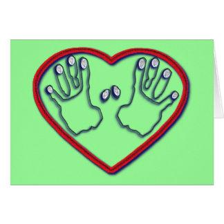 Fingerprints of God - 1 Peter 5:6-7 Card