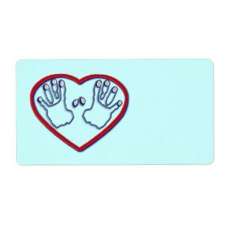 Fingerprints of God - 1 Peter 5:6-7 Label