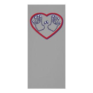 Fingerprints of God - 1 Peter 5:6-7 Rack Card