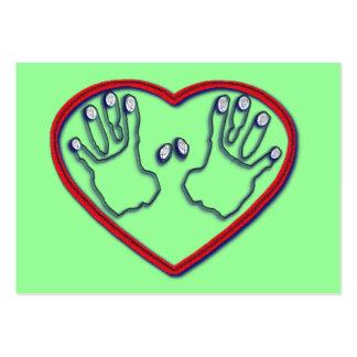Fingerprints of God - 1 Peter 5:6-7 Tract Card / Large Business Card