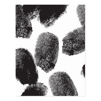 Fingerprints Postcards