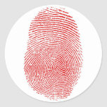 Fingerprints sticker