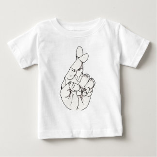 Fingers Crossed Baby T-Shirt