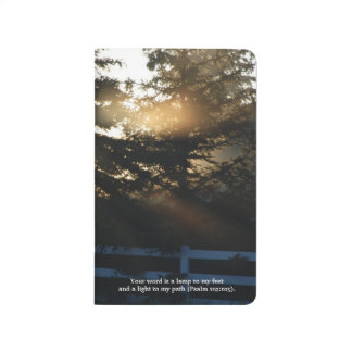 Fingers of God Scripture Personalized Journal
