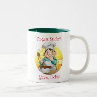 fingers sticky? mug
