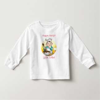 fingers sticky? toddler t-shirt