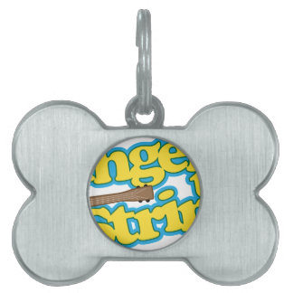 Fingers to Strings Pet ID Tag