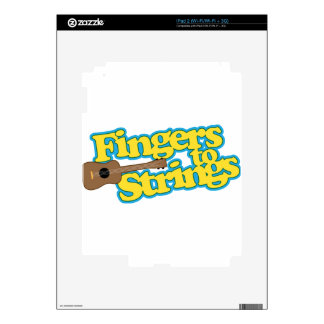Fingers to Strings Skin For iPad 2