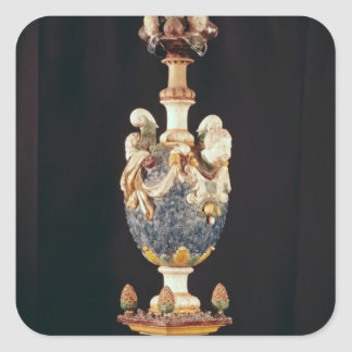 Finial, made in Manerbe near Lisieux Square Sticker