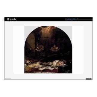 Finis Gloriae Mundi by Juan de Valdes Leal Decal For Laptop