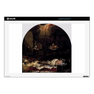 Finis Gloriae Mundi de Juan de Valdes Leal Portátil 43,2cm Skins