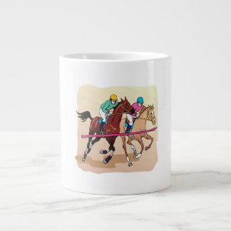 Finish Line 2 Giant Coffee Mug