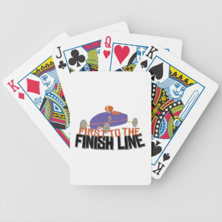 Finish Line Bicycle Playing Cards