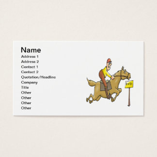 Finish Line Business Card