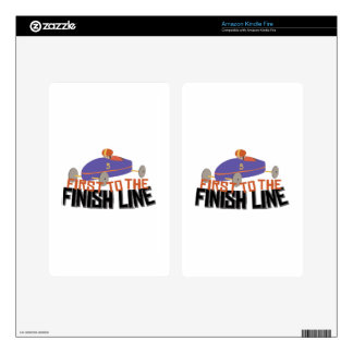 Finish Line Decals For Kindle Fire