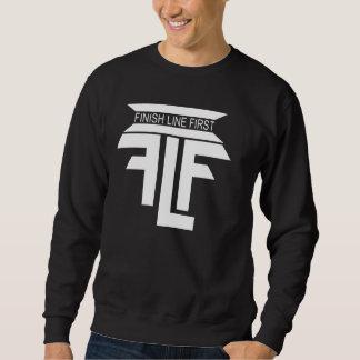 Finish Line First (Black) Pullover Sweatshirt