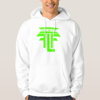 Finish Line First Hoodie (white/green)
