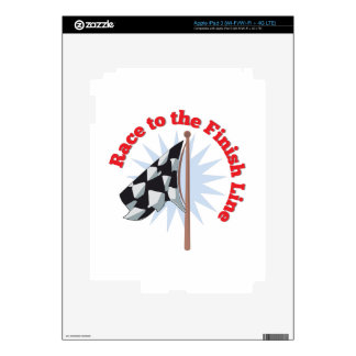 Finish Line iPad 3 Decals