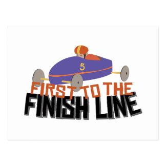 Finish Line Postcard