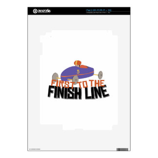 Finish Line Skin For iPad 2