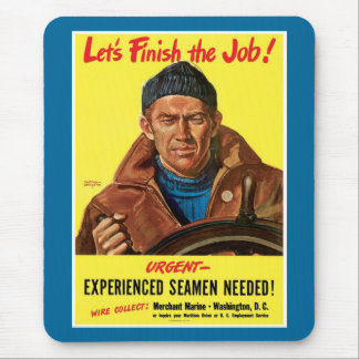 Finish The Job! Mouse Pad