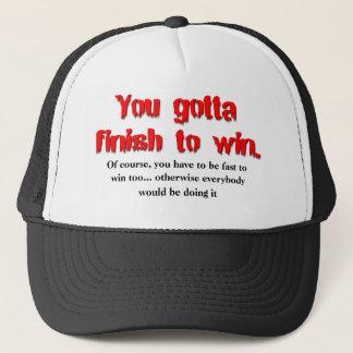 Finish To Win Dirt Bike Motocross Cap Hat
