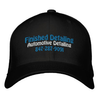 Finished Detailing, Automotive Detailing, 847-2... Cap