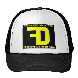 Finished detailing trucker hat