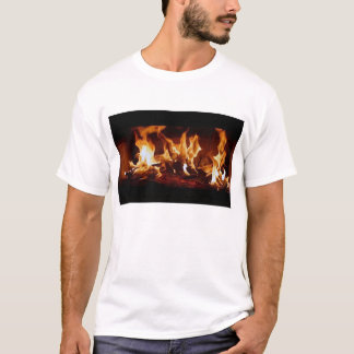 finished fireplace T-Shirt