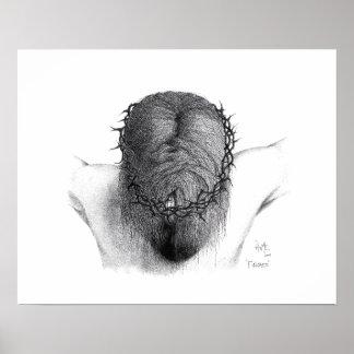 """""""Finished"""" - pointillism Poster"""