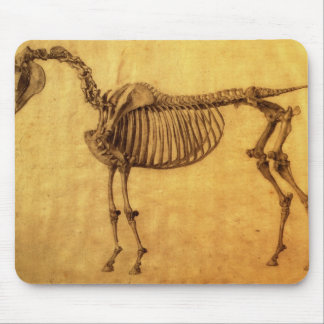 Finished Study for the First Skeletal Table Mouse Pad