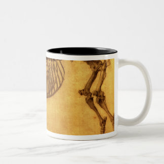 Finished Study for the First Skeletal Table Two-Tone Coffee Mug