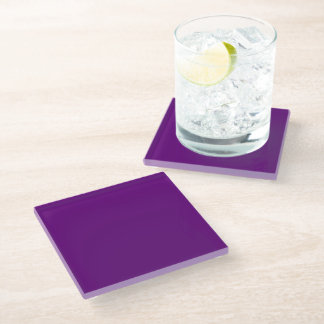 Finished with 3M™ Bumpon™ rubber feet Glass Coaster