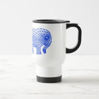 Finite Elephant Travel Mug