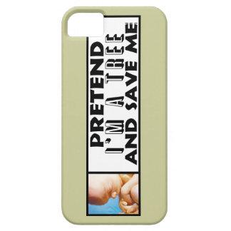 ¡Fínjame son un árbol iPhone 5 Case-Mate Cárcasas