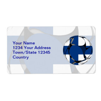 Finland #1 label